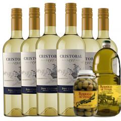 Cristóbal Chardonnay + Combo Oliva
