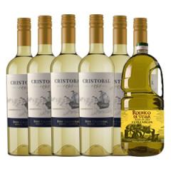 Cristóbal Chardonnay + Aceite de Oliva
