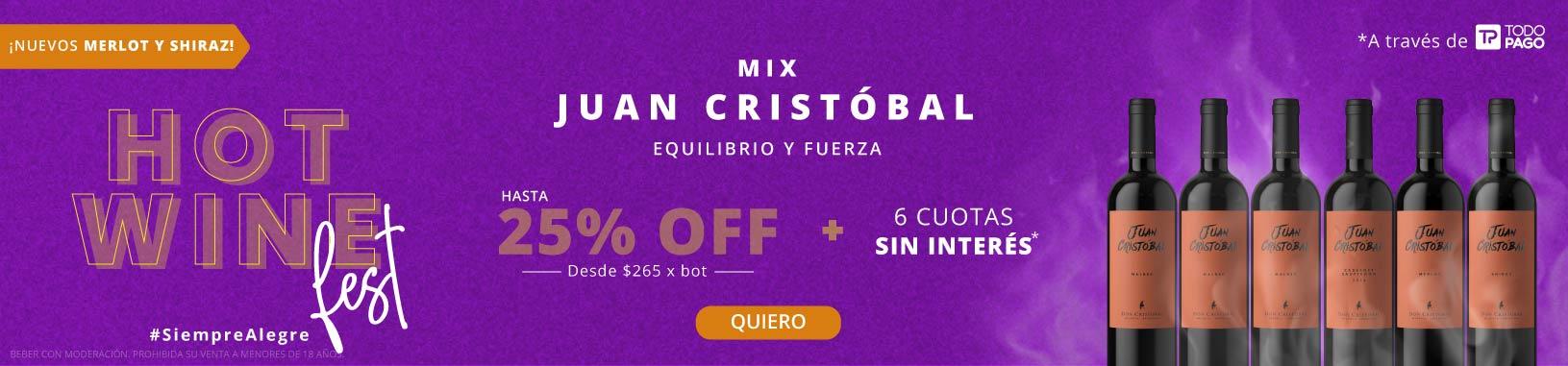 ¡Nuevo! Mix Juan Cristóbal