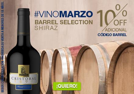 Barrel Shiraz