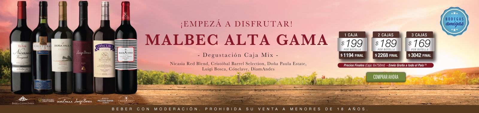 Mix Malbec Alta Gama